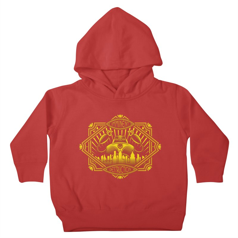 Imminent Destruction Kids Toddler Pullover Hoody by heavyhand's Artist Shop