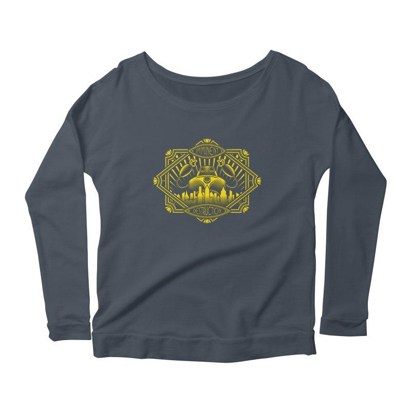 Imminent Destruction Women's Scoop Neck Longsleeve T-Shirt by heavyhand's Artist Shop