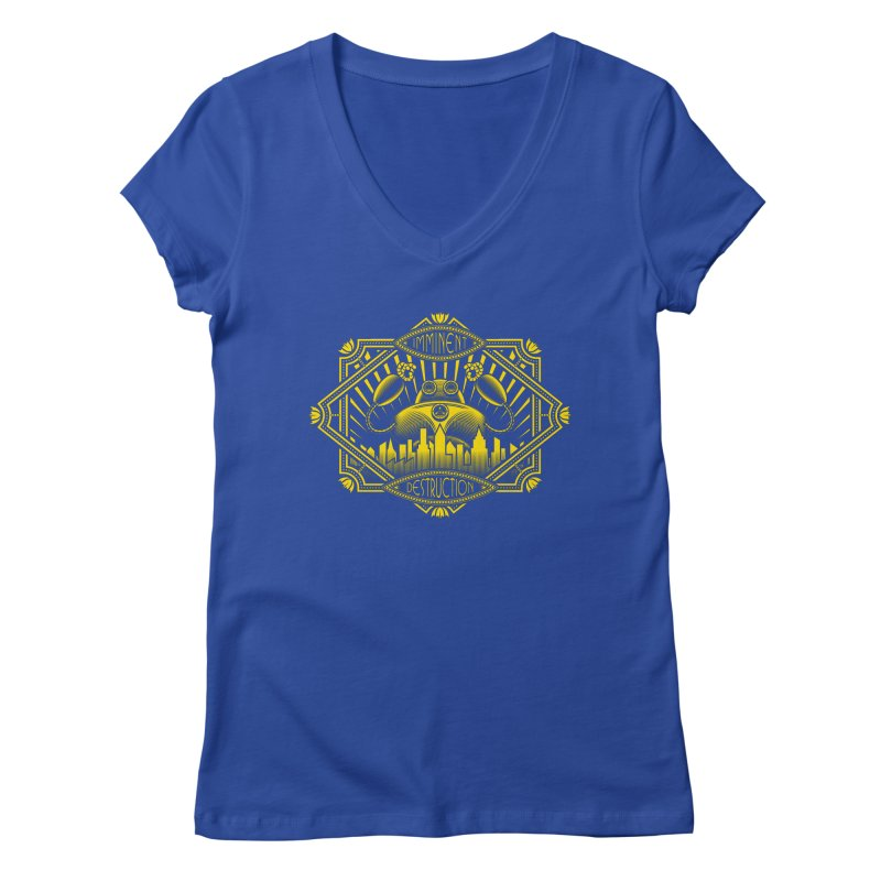 Imminent Destruction Women's V-Neck by heavyhand's Artist Shop