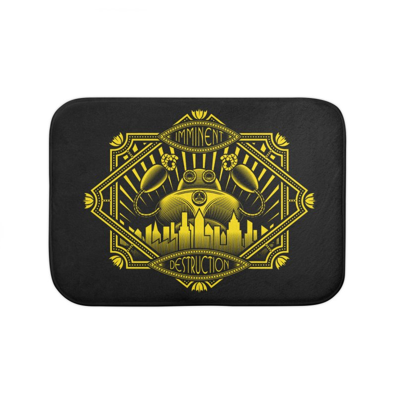 Imminent Destruction Home Bath Mat by heavyhand's Artist Shop