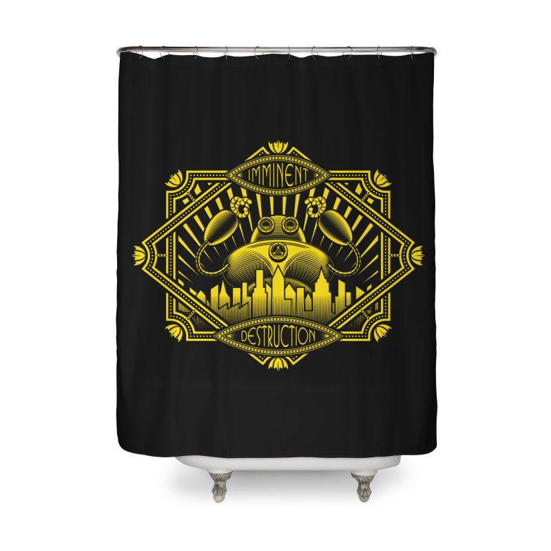 Imminent Destruction Home Shower Curtain by heavyhand's Artist Shop