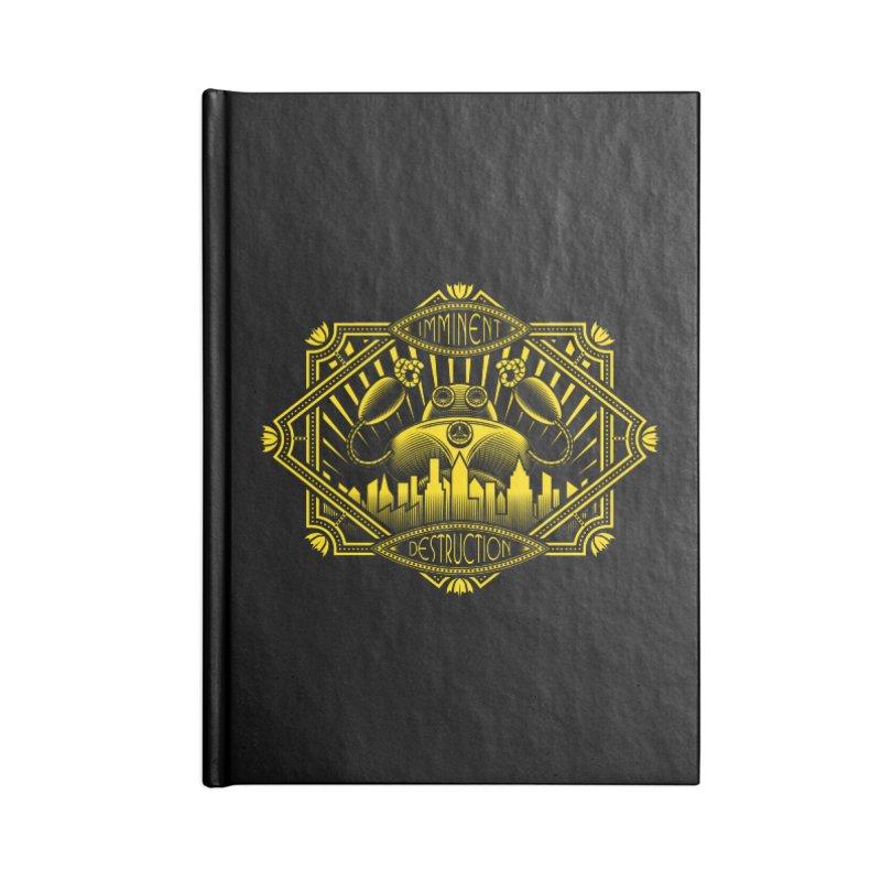 Imminent Destruction Accessories Lined Journal Notebook by heavyhand's Artist Shop