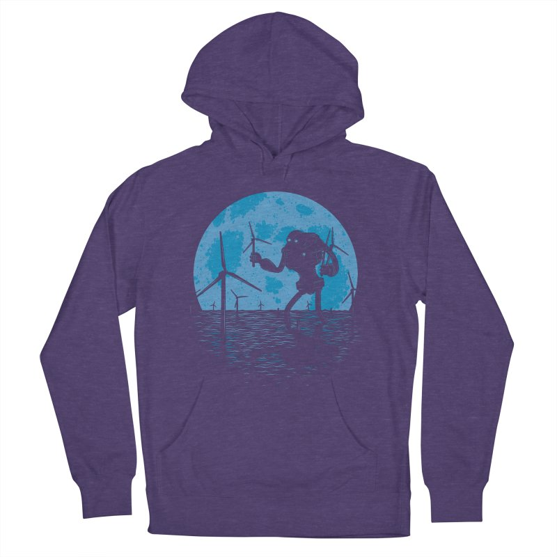 Picking Mechanical Flowers Women's French Terry Pullover Hoody by heavyhand's Artist Shop