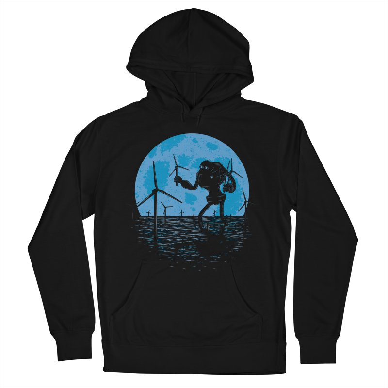 Picking Mechanical Flowers Men's French Terry Pullover Hoody by heavyhand's Artist Shop