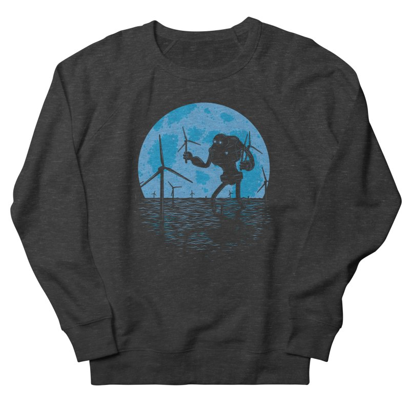 Picking Mechanical Flowers Men's French Terry Sweatshirt by heavyhand's Artist Shop