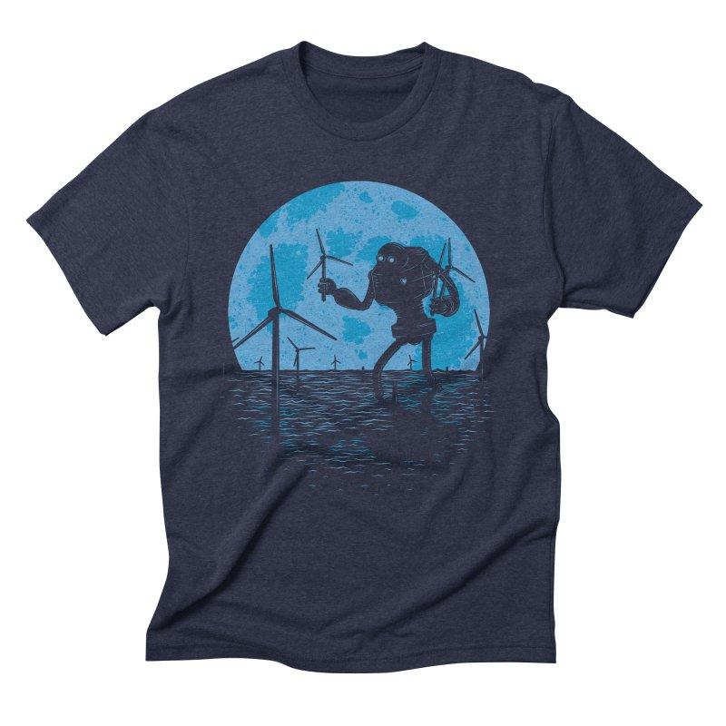 Picking Mechanical Flowers Men's Triblend T-shirt by heavyhand's Artist Shop