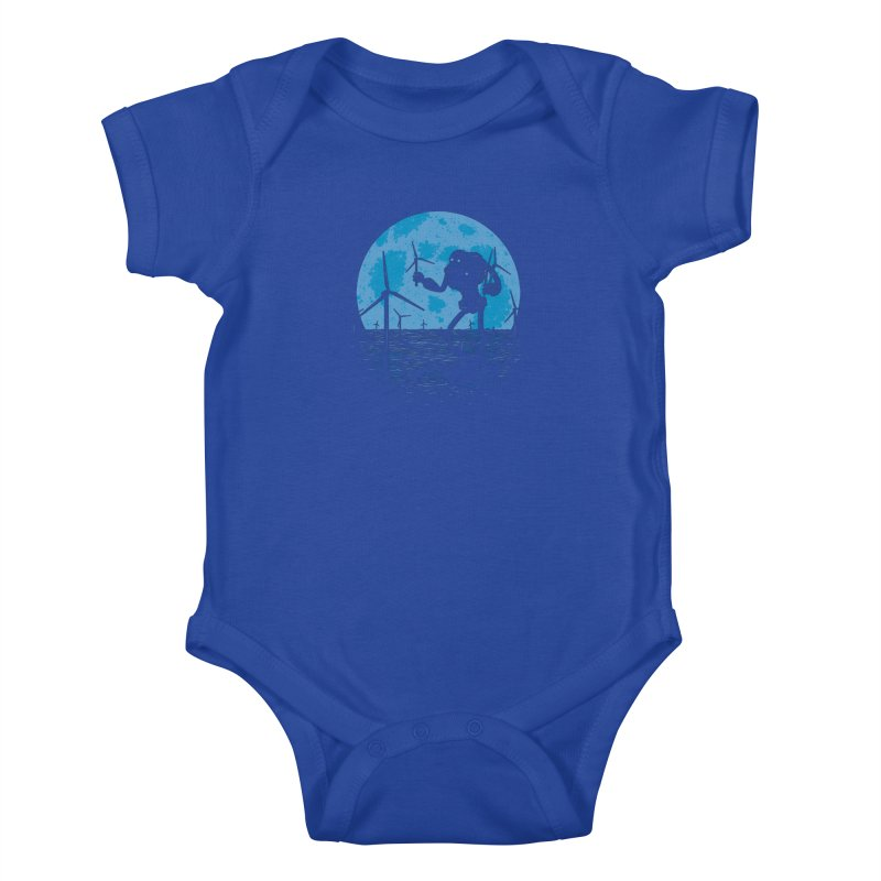 Picking Mechanical Flowers Kids Baby Bodysuit by heavyhand's Artist Shop