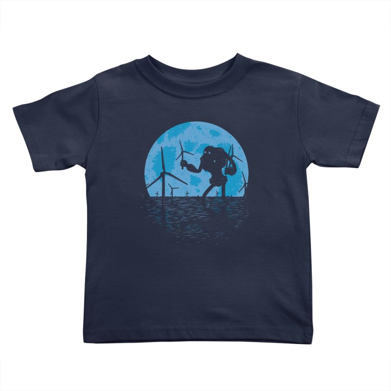 Picking Mechanical Flowers Kids Toddler T-Shirt by heavyhand's Artist Shop