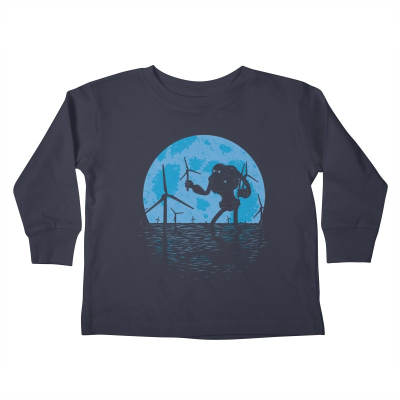 Picking Mechanical Flowers Kids Toddler Longsleeve T-Shirt by heavyhand's Artist Shop