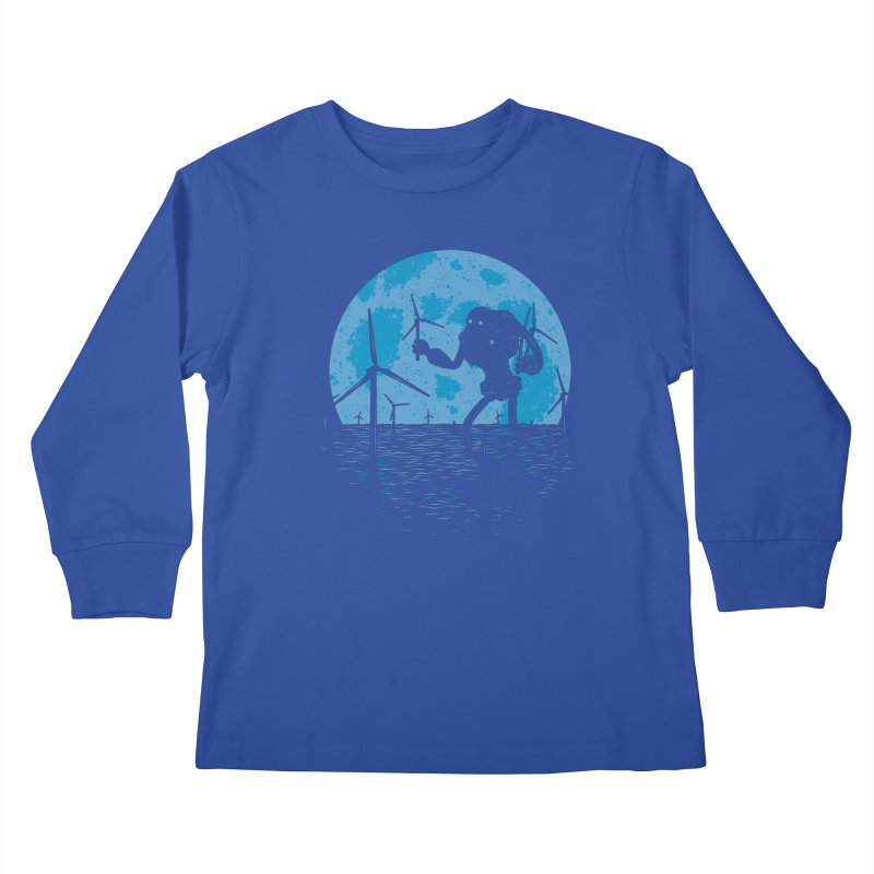 Picking Mechanical Flowers Kids Longsleeve T-Shirt by heavyhand's Artist Shop