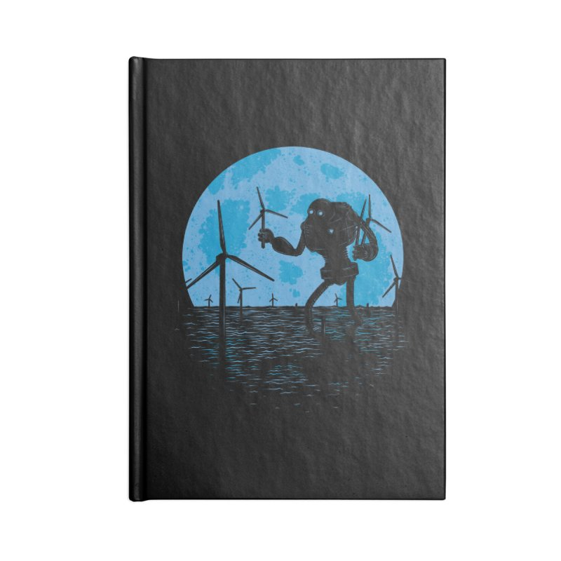 Picking Mechanical Flowers Accessories Lined Journal Notebook by heavyhand's Artist Shop