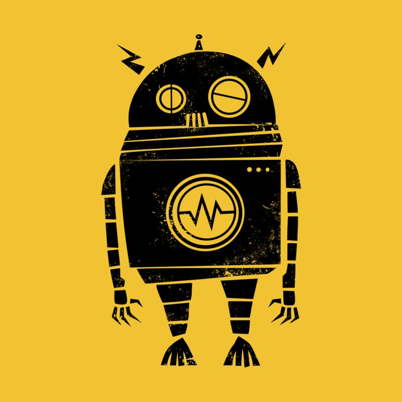 Big Robot 2.0 Kids Baby T-Shirt by heavyhand's Artist Shop