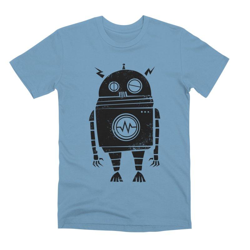Big Robot 2.0 Men's Premium T-Shirt by heavyhand's Artist Shop