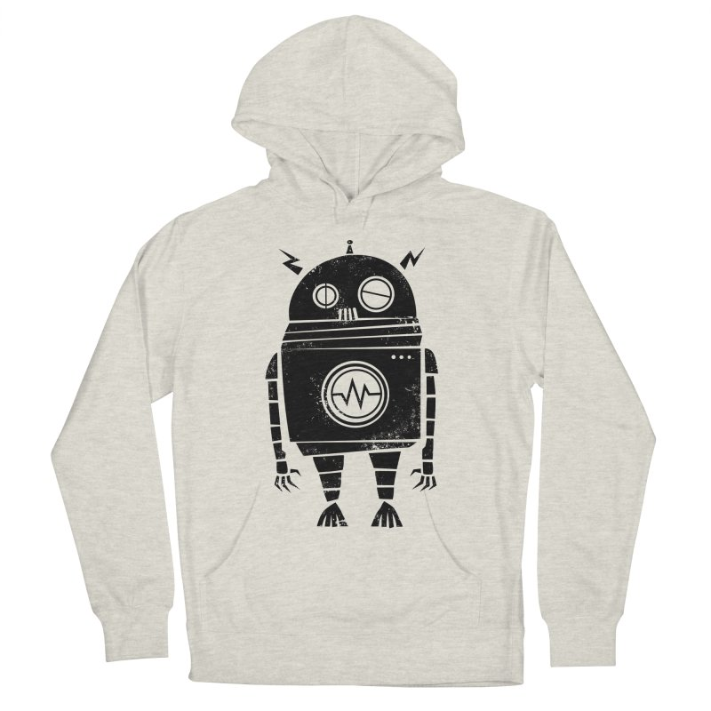 Big Robot 2.0 Men's French Terry Pullover Hoody by heavyhand's Artist Shop