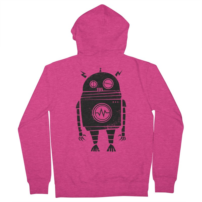 Big Robot 2.0 Women's French Terry Zip-Up Hoody by heavyhand's Artist Shop