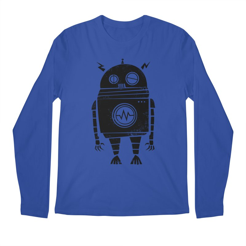 Big Robot 2.0 Men's Regular Longsleeve T-Shirt by heavyhand's Artist Shop
