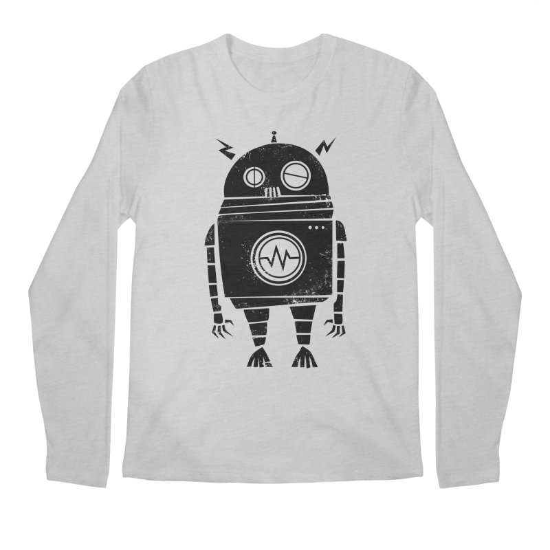 Big Robot 2.0 Men's Longsleeve T-Shirt by heavyhand's Artist Shop