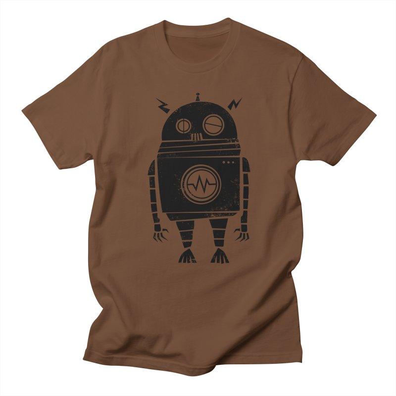 Big Robot 2.0 Men's Regular T-Shirt by heavyhand's Artist Shop