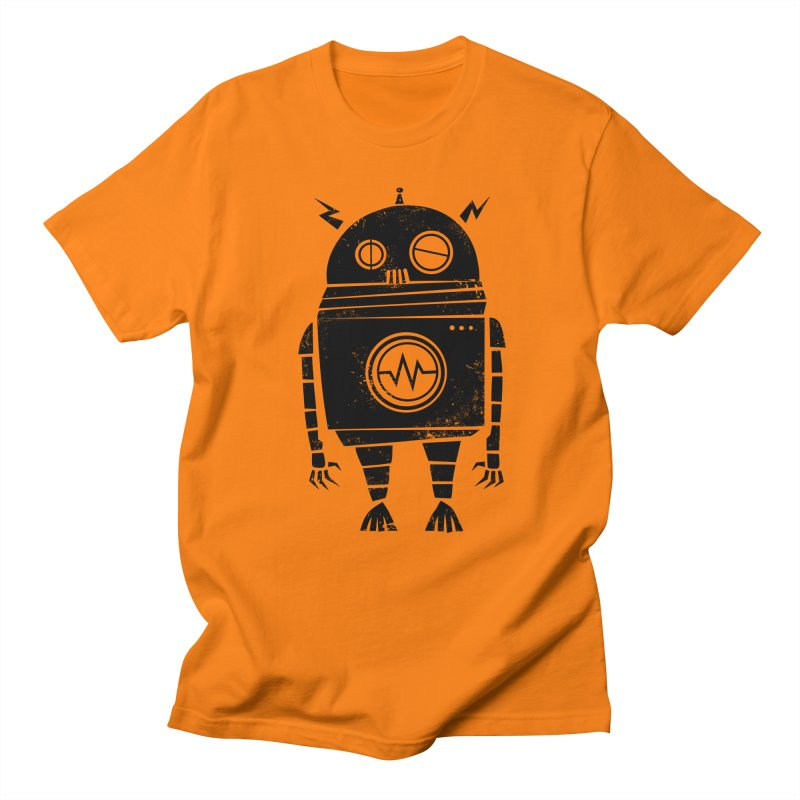 Big Robot 2.0 Men's Regular T-Shirt by heavyhand's Artist Shop