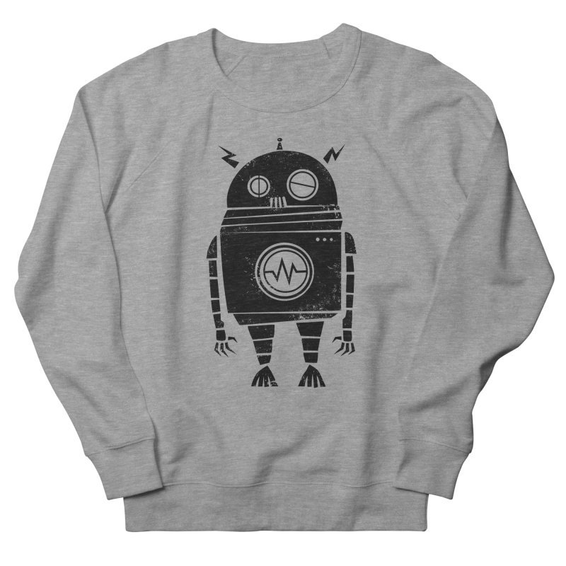 Big Robot 2.0 Women's French Terry Sweatshirt by heavyhand's Artist Shop