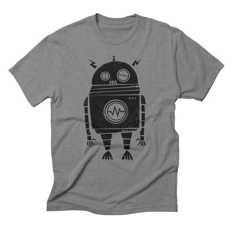 Big Robot 2.0 Men's Triblend T-Shirt by heavyhand's Artist Shop
