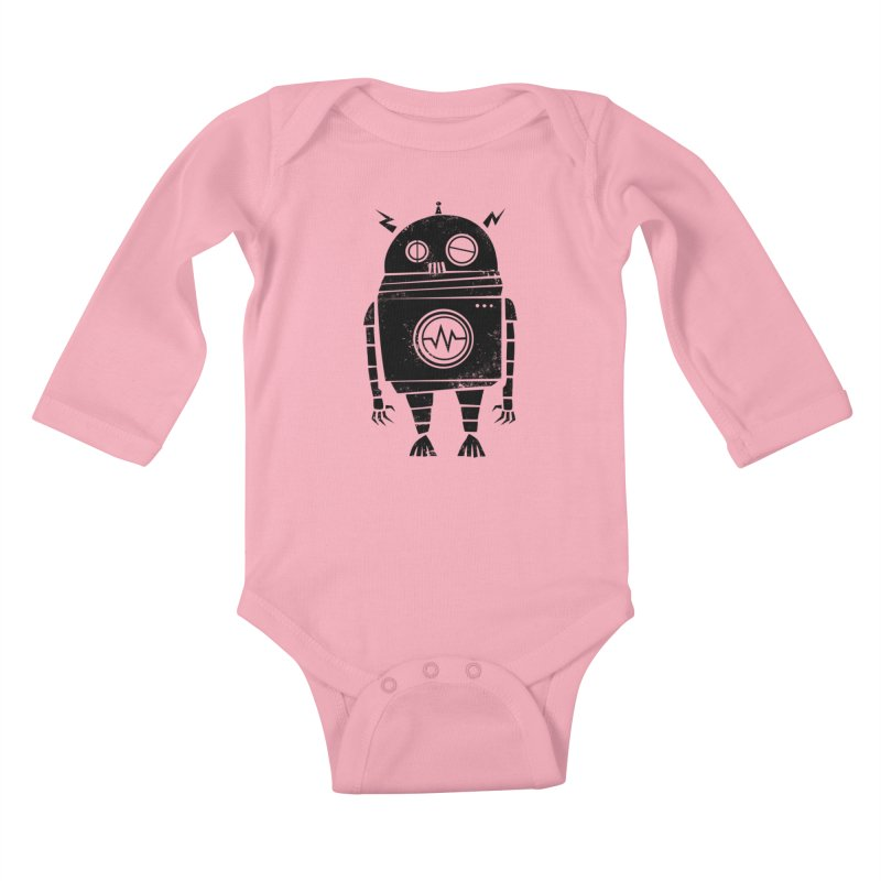 Big Robot 2.0 Kids Baby Longsleeve Bodysuit by heavyhand's Artist Shop