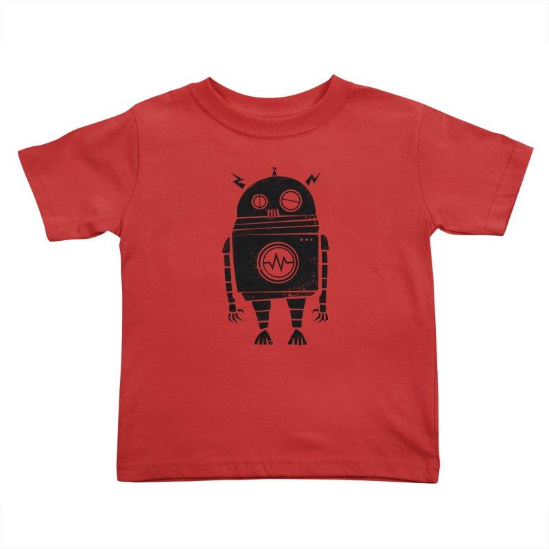 Big Robot 2.0 Kids Toddler T-Shirt by heavyhand's Artist Shop