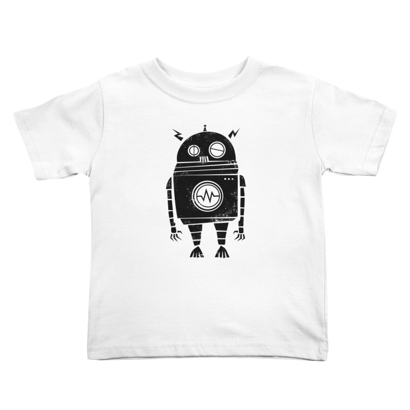 Big Robot 2.0 Kids Toddler T-Shirt by heavyhand's Artist Shop