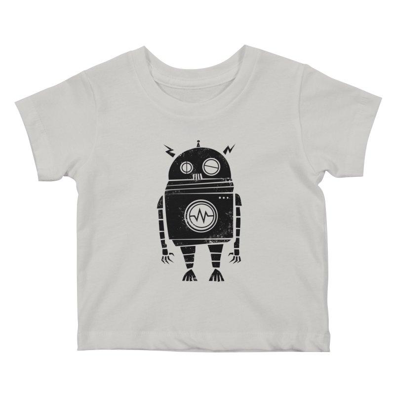 Big Robot 2.0 Kids Baby T-Shirt by heavyhand's Artist Shop