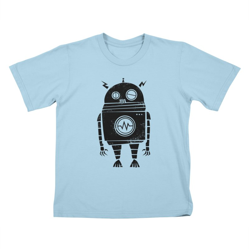 Big Robot 2.0 Kids T-shirt by heavyhand's Artist Shop