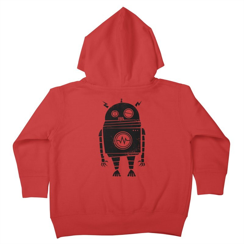 Big Robot 2.0 Kids Toddler Zip-Up Hoody by heavyhand's Artist Shop