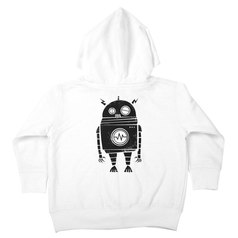 Big Robot 2.0 Kids Toddler Zip-Up Hoody by heavyhand's Artist Shop