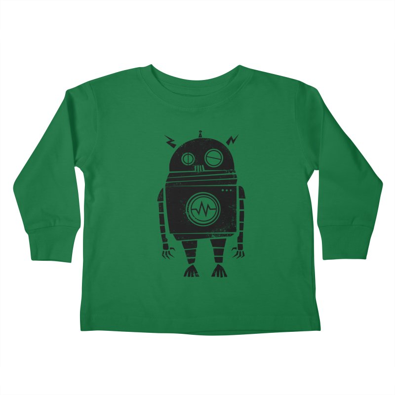 Big Robot 2.0 Kids Toddler Longsleeve T-Shirt by heavyhand's Artist Shop