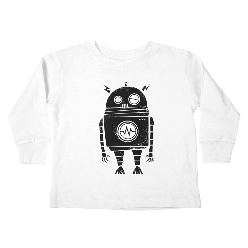 Big Robot 2.0 Kids Toddler Longsleeve T-Shirt by heavyhand's Artist Shop