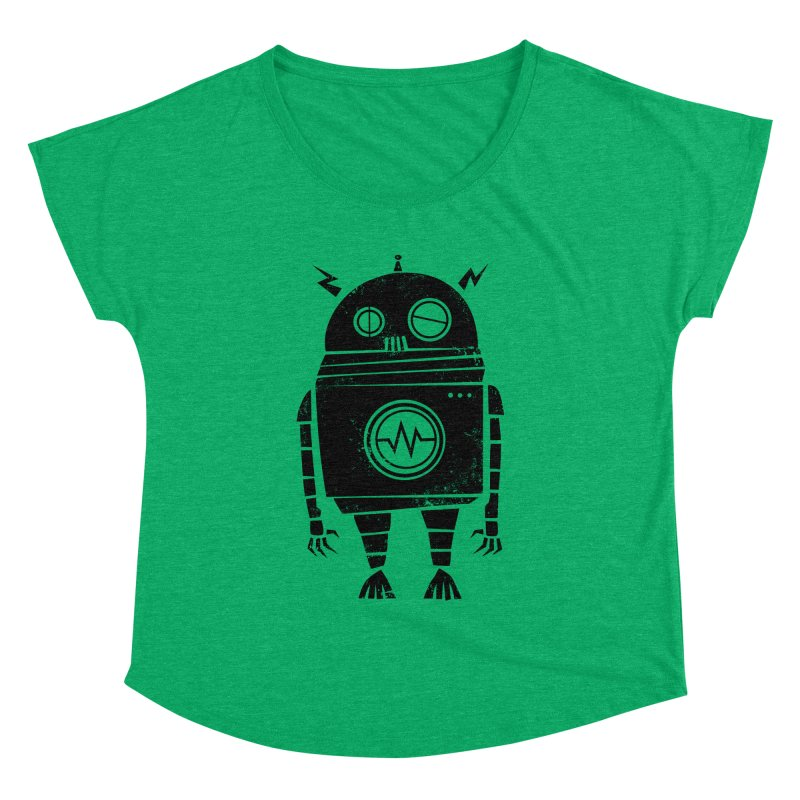 Big Robot 2.0 Women's Dolman Scoop Neck by heavyhand's Artist Shop