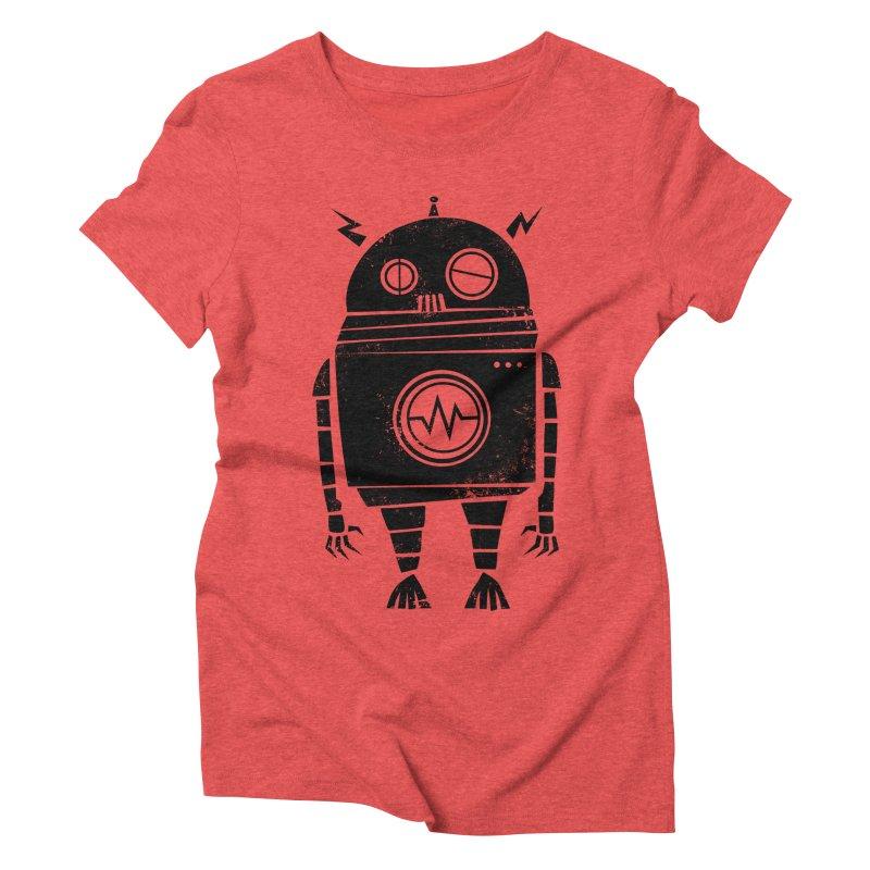 Big Robot 2.0 Women's Triblend T-shirt by heavyhand's Artist Shop