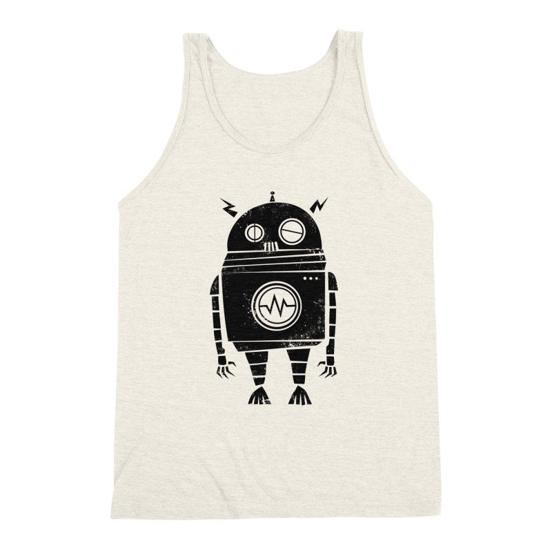 Big Robot 2.0 Men's Triblend Tank by heavyhand's Artist Shop