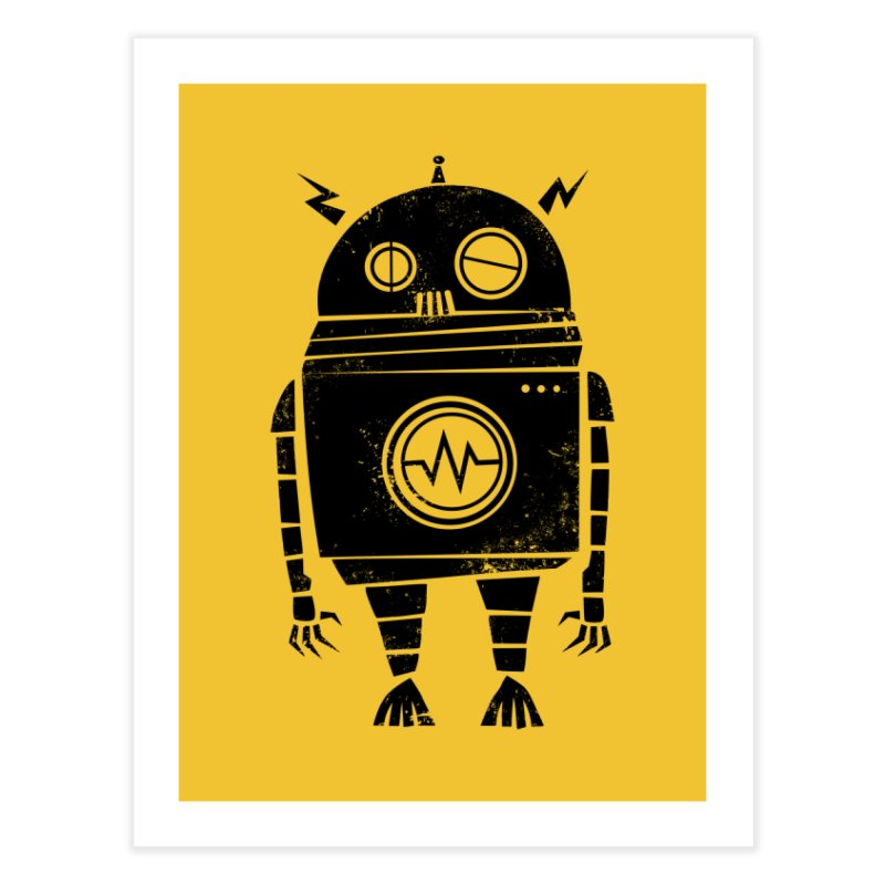 Big Robot 2.0 Home Fine Art Print by heavyhand's Artist Shop