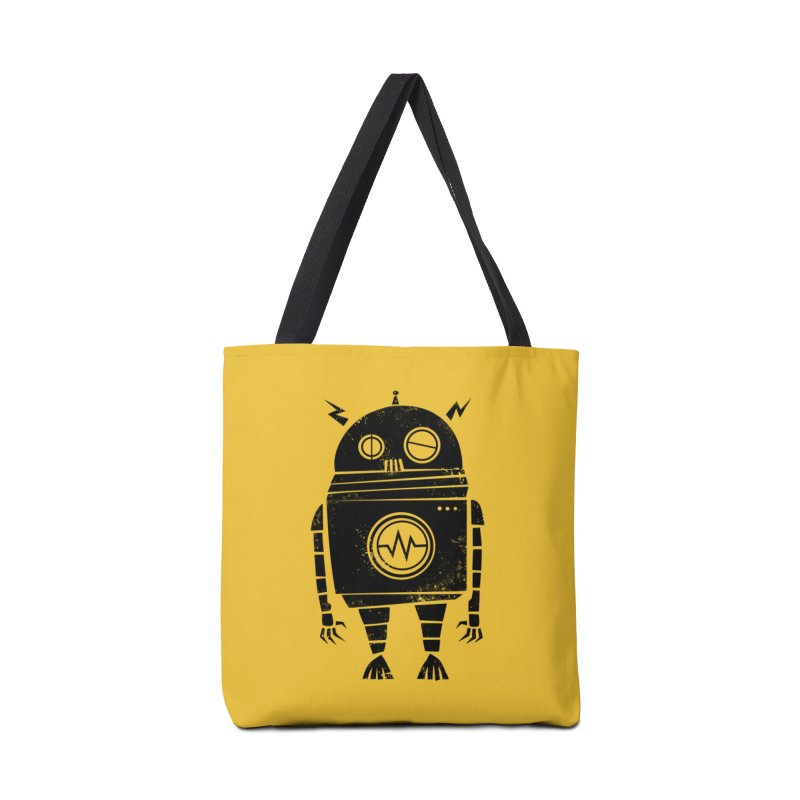 Big Robot 2.0 Accessories Tote Bag Bag by heavyhand's Artist Shop