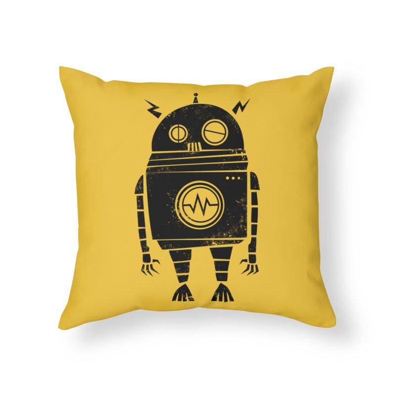Big Robot 2.0 Home Throw Pillow by heavyhand's Artist Shop