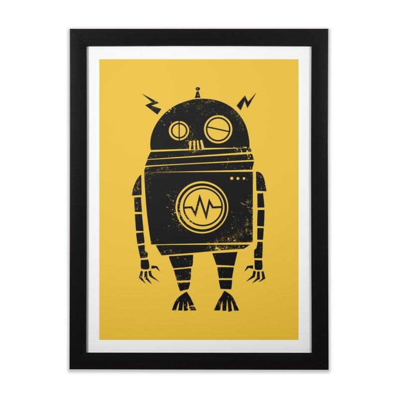 Big Robot 2.0 Home Framed Fine Art Print by heavyhand's Artist Shop