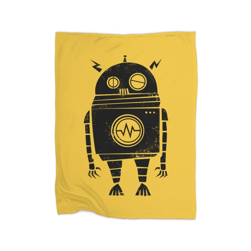 Big Robot 2.0 Home Blanket by heavyhand's Artist Shop