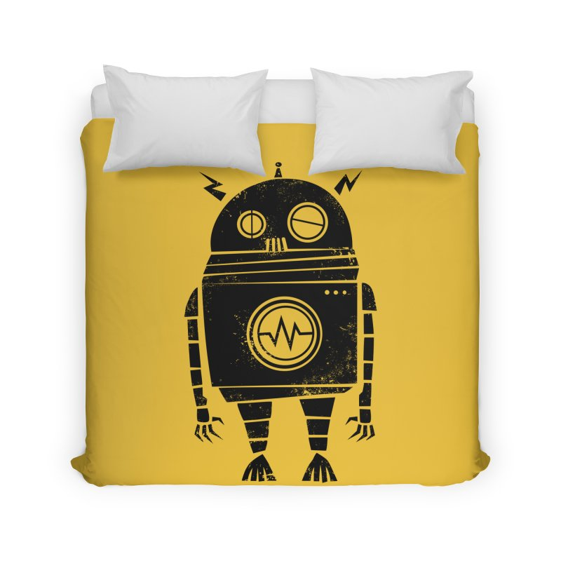 Big Robot 2.0 Home Duvet by heavyhand's Artist Shop