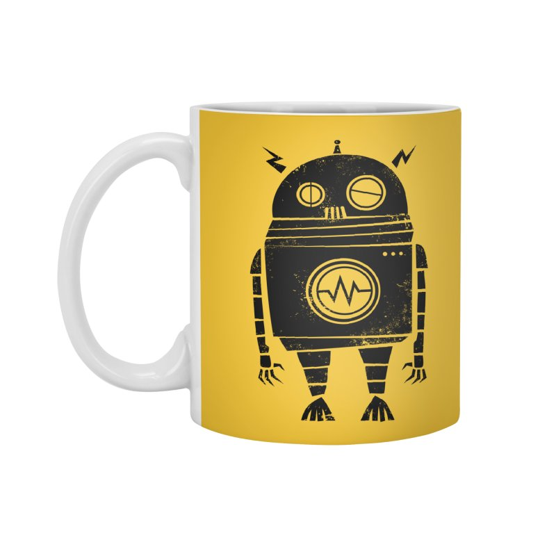 Big Robot 2.0 Accessories Mug by heavyhand's Artist Shop