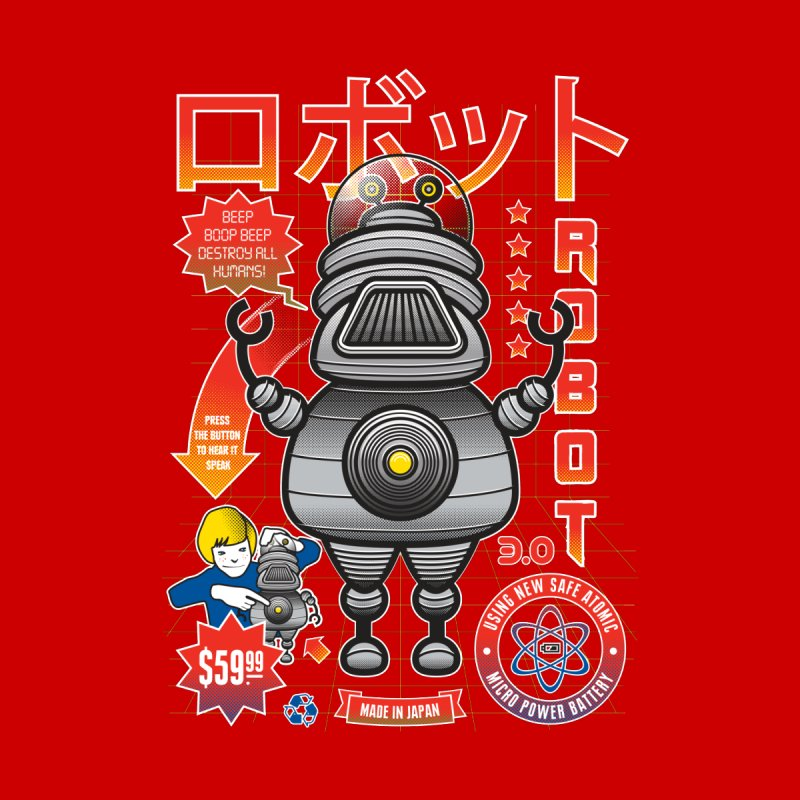 Robot 3.0 by heavyhand's Artist Shop