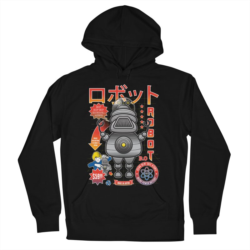 Robot 3.0 Men's Pullover Hoody by heavyhand's Artist Shop
