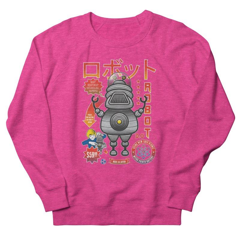 Robot 3.0 Women's French Terry Sweatshirt by heavyhand's Artist Shop