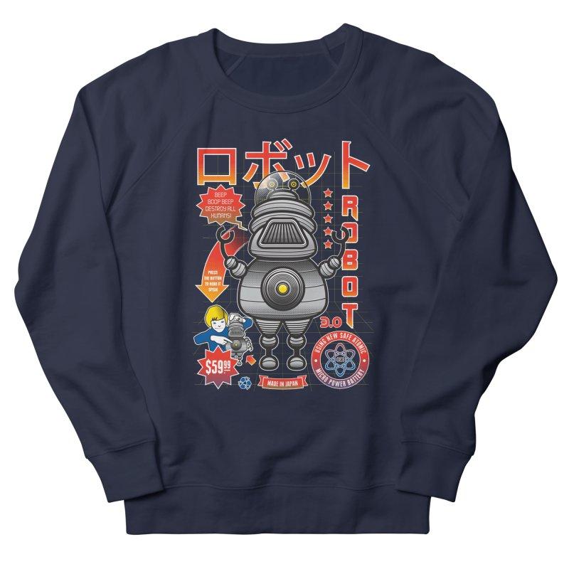 Robot 3.0 Men's Sweatshirt by heavyhand's Artist Shop