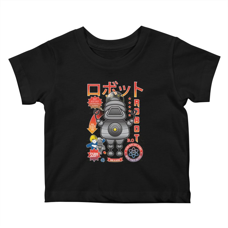 Robot 3.0 Kids Baby T-Shirt by heavyhand's Artist Shop