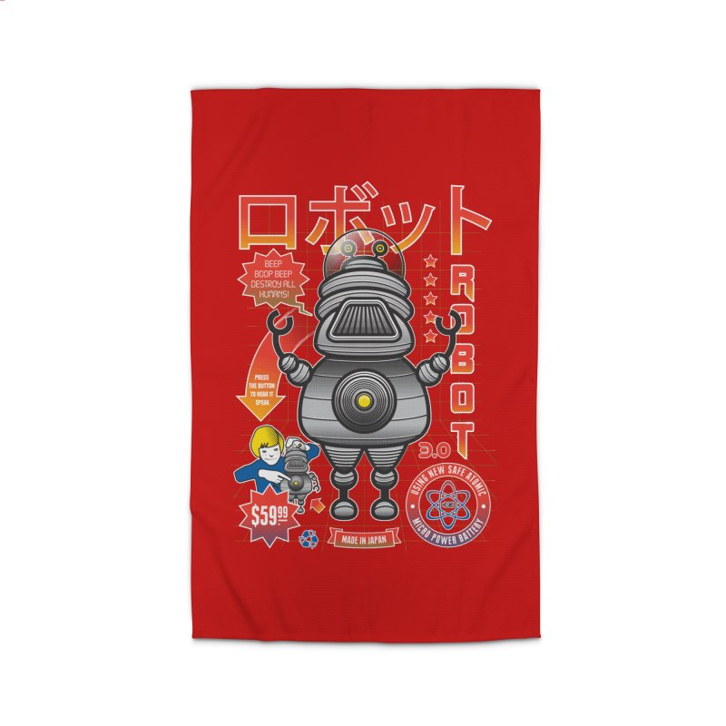 Robot 3.0 Home Rug by heavyhand's Artist Shop